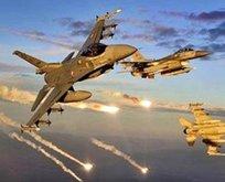 İHA'lar tespit etti F16'lar hainleri havaya uçurdu