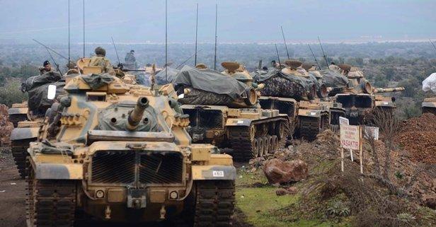 Afrin'de 2 köy daha teröristlerden temizlendi