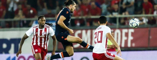 Medipol Başakşehir yoluna UEFA Avrupa Ligi'nde devam edecek | Olympiakos:2 - Medipol Başakşehir:0 Maç sonucu