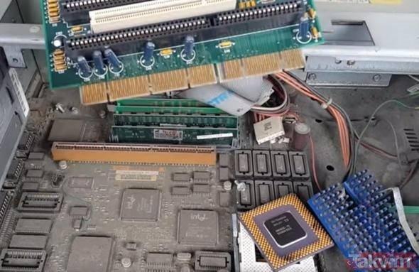 Eskiyen bilgisayarının içinden altın çıkardı! İnanılmaz yöntem