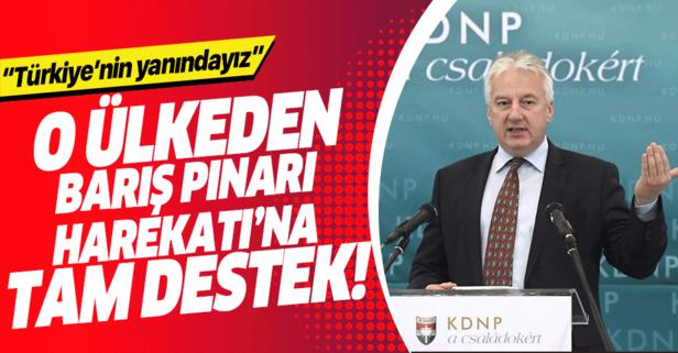 """""""Barış Pınarı Operasyonu""""na tam destek"""