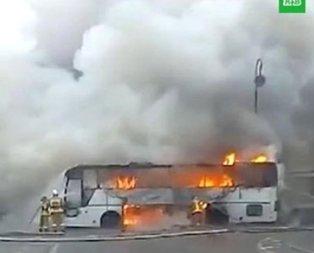 Kazakistanda otobüs faciası! 52 yolcu hayatını kaybetti