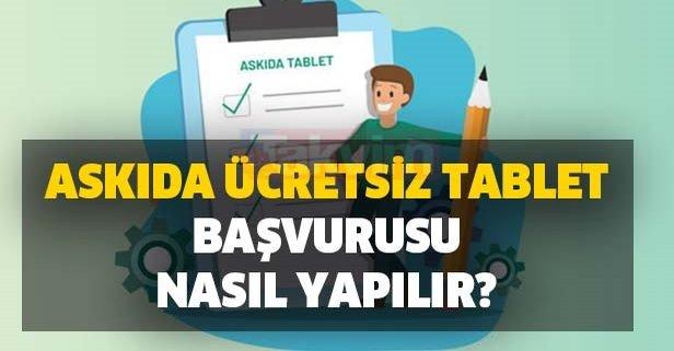 Askıda ücretsiz tablet başvurusu nasıl yapılır?