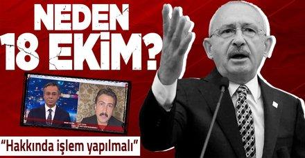 Kılıçdaroğlu'nun mafyavari söylemlerine sert tepki