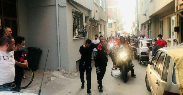Bursa'da 15 kilometrelik kovalamaca