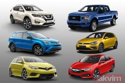 Dünyanın en çok satan araba modelleri