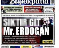 Erdoğan'a alçak saldırı yapan gazeteye şok