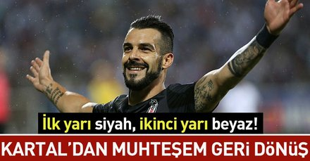 Kartaldan muhteşem geri dönüş I BB Erzurumspor: 1 - Beşiktaş: 3 (MAÇ SONUCU)