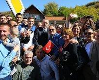 Novi Pazardan Cumhurbaşkanı Erdoğana fahri hemşehrilik