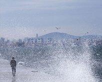 Meteorolojiden kuvvetli lodos uyarısı