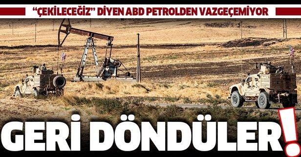 ABD Suriye'deki petrolden vazgeçemiyor!