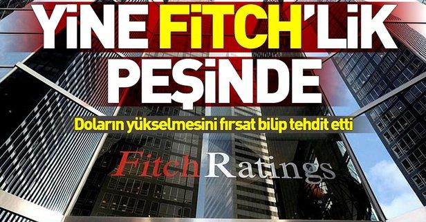 Fitchten Türkiyeye müdahale çağrısı