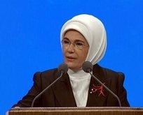 Emine Erdoğan'dan kadına şiddette 'medya dili' uyarısı
