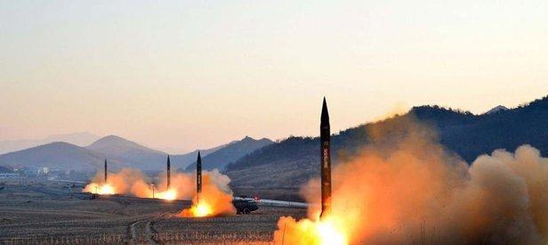 Dünya alarma geçti! Kuzey Kore yine füze fırlattı