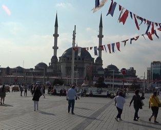 Taksim Camii'nde sona doğru: Yüzde 80'i tamamlandı! İşte ibadete açılacağı tarih