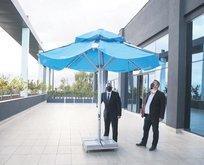 Şemsiyeler güneşi elektriğe çevirecek