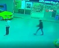 İzmirde benzinlikte korkunç cinayet