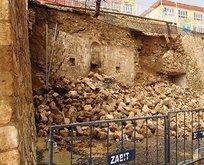Hükümet konağının duvarı yıkılınca ortaya çıktı