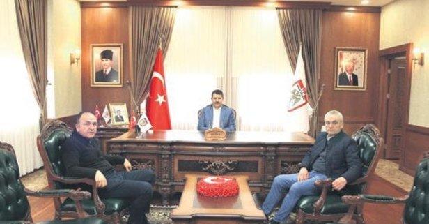 Demir Grup Sivasspor'dan Ayhan'a anlamlı ziyaret