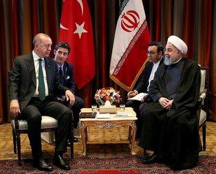 Başkan Erdoğan ile Ruhani arasında önemli görüşme