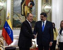 Venezuela Devlet Başkanı Maduro, Lavrov ile görüştü