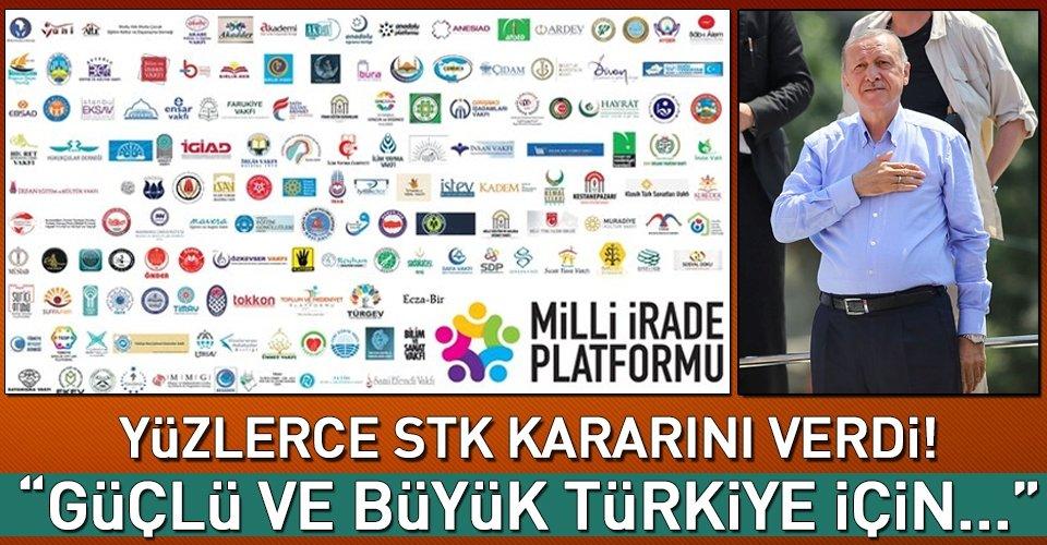 Yüzlerce STKdan AK Partiye destek kararı