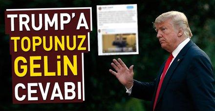 Trump'ın tehdidine Türk kullanıcılarından tokat gibi cevap: Topunuz gelin