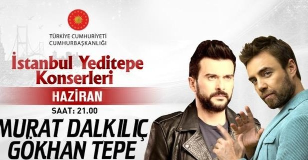 Gökhan Tepe ve Murat Dalkılıç izleyiciyle buluştu