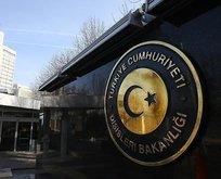 Dışişleri Bakanlığı, alçak saldırıyı kınadı