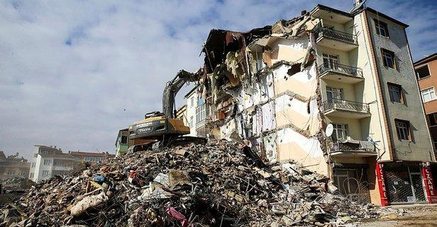 Elazığ depremi hakkında flaş açıklama