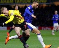 Cenk Tosun'lu Everton yine kayıp