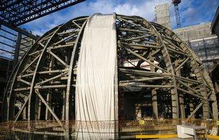 AKM'nin kaba inşaatı tamamlandı!