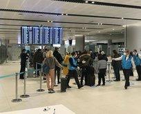 İngiltere'den gelen yolculara test yapıldı