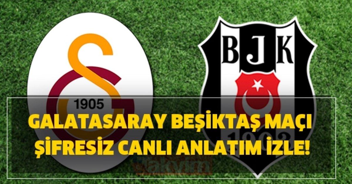 Canli Izle Galatasaray Besiktas Maci Sifresiz Canli Anlatim Izle