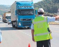 Trafik polisine rüşvet operasyonu