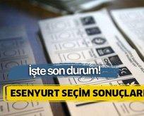23 Haziran Esenyurt İstanbul seçim sonuçları
