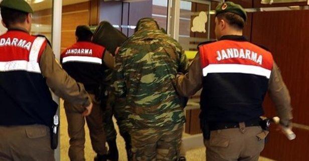 Sınırda yakalanan Yunan askerleri hakkında flaş karar