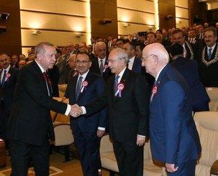 Cumhurbaşkanı Erdoğanı gören Kılıçdaroğlu panik yaptı