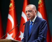 Başkan Erdoğan'dan şehit ailesine başsağlığı mesajı!