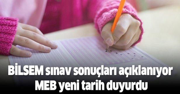 BİLSEM sınav sonuçları açıklanıyor MEB yeni tarih duyurdu