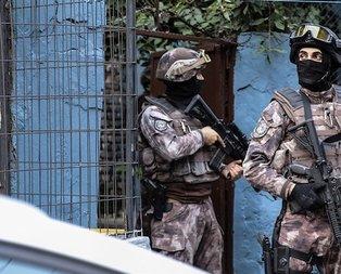 İstanbul'da 7 ilçede terör operasyonu: 8 gözaltı