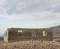 Sular çekildi tarihi cami gün yüzüne çıktı