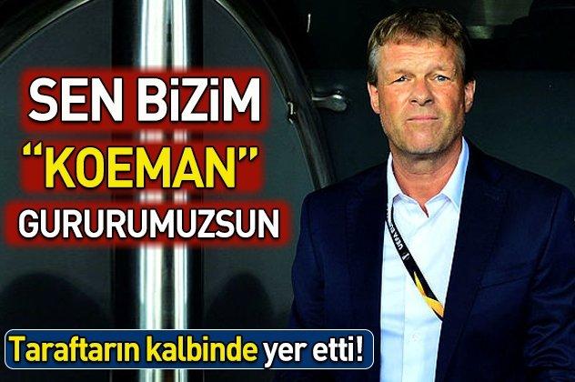 Sosyal medyada gündem Erwin Koeman!