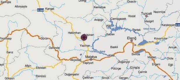 Son dakika: Malatya'da korkutan deprem | Son depremler