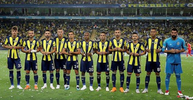 Fenerbahçe'den saygılarla