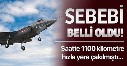 Pasifik Okyanusu üzerinde düşen F-35 savaş uçağında vertigo şüphesi