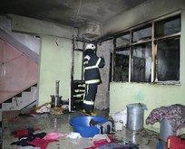 Yangın faciası: 3'ü çocuk 7 kişi hastaneye kaldırıldı
