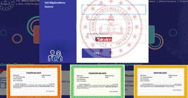 E-Okul VBS giriş ekranı: E-Okul karne notu görüntüleme!