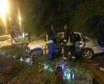 Muğla'da acı olay! Otomobil şarampole uçtu