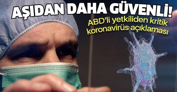 ABD'li yetkiliden kritik koronavirüs açıklaması!